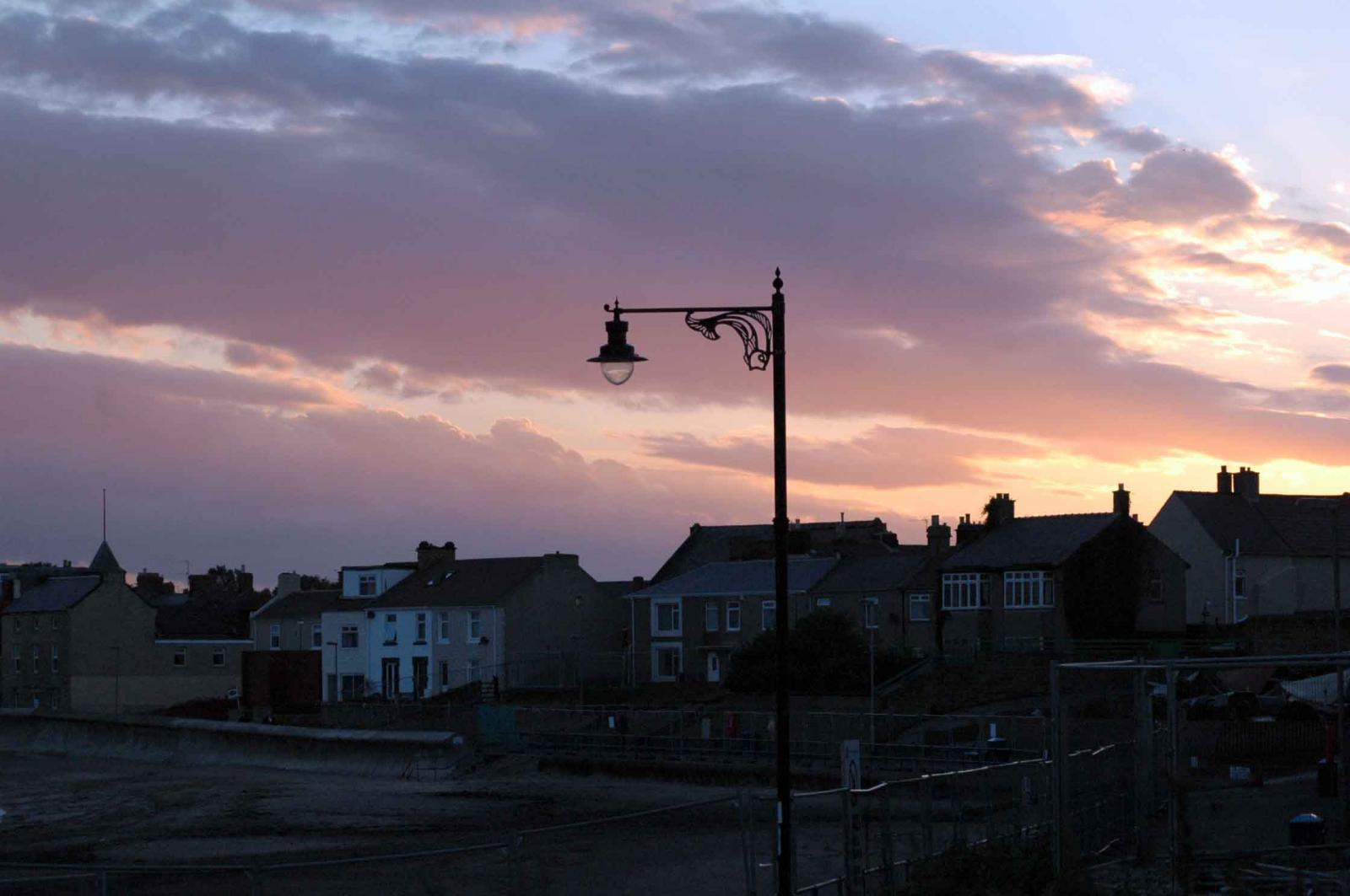 Newbiggen as the night comes in.jpg