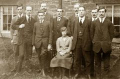 Netherton Colliery Office Staff 1920s