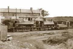 Peckett engines at Netherton Colliery