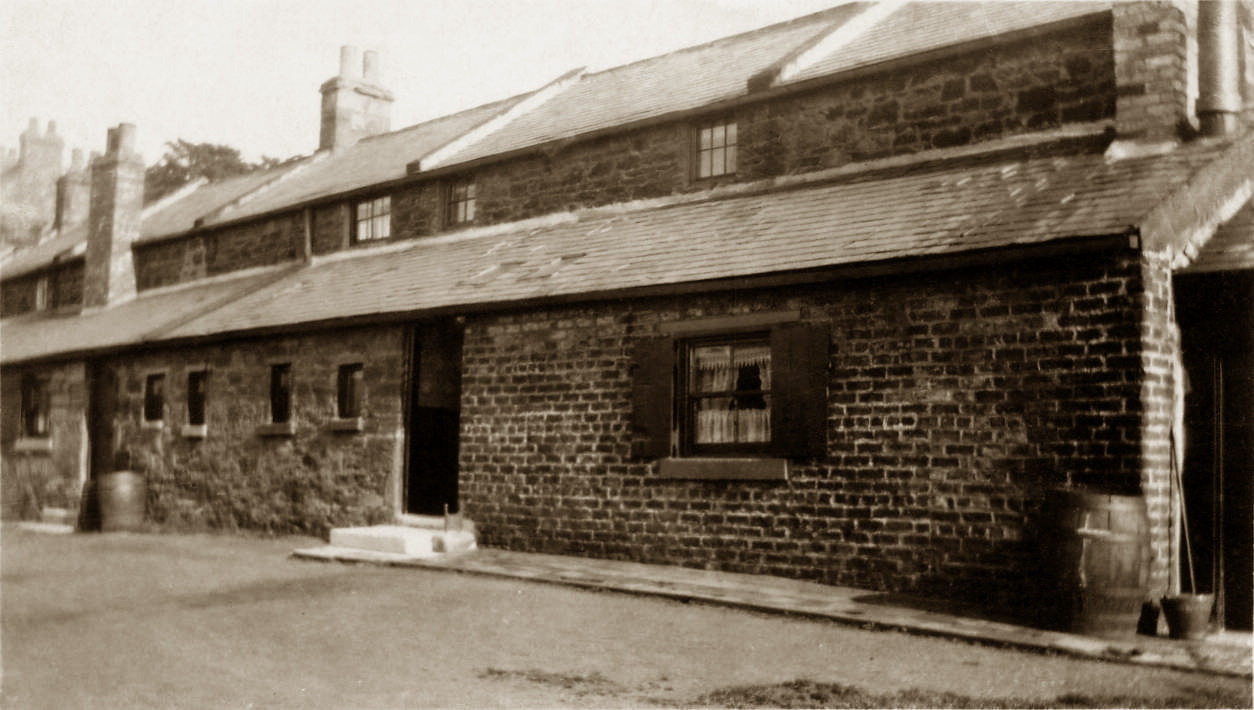 Back of Office Row 1930s