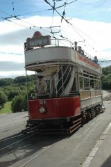 Tram at Beamish