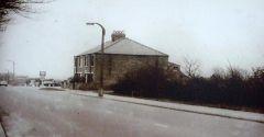 Begbie`s Garage, Bottom of Glebe Bank