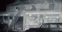 Glebe Road Fire 1957