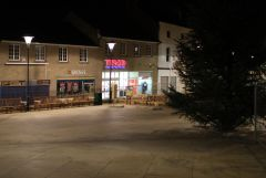 Market Place at Night November 2009