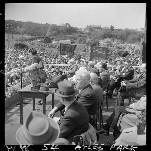1950 Speech at Atlee Park - Miners Picnic
