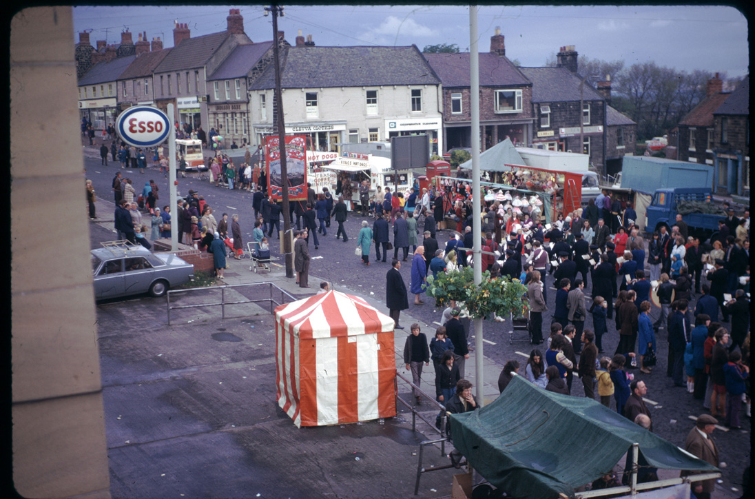 1974 Miners Picnic - Front Street