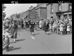 1950 Procession through Front Street - Miners Picnic