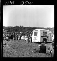 1954 Ice cream Van - Miners Picnic