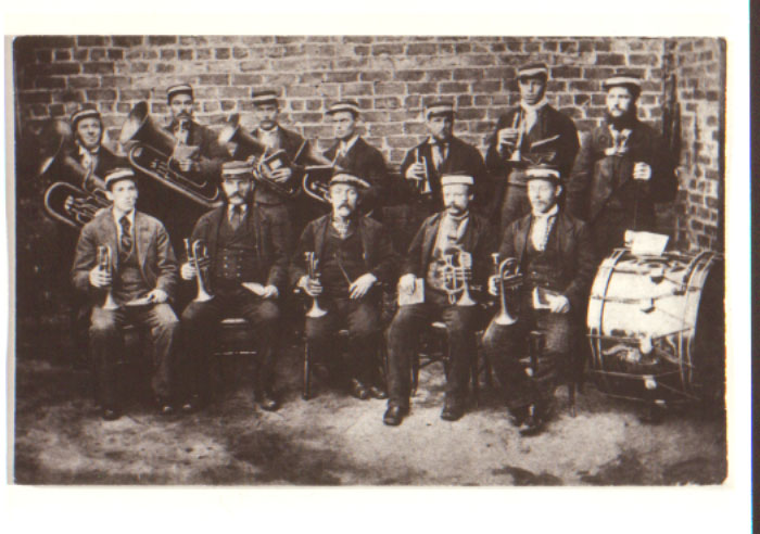 Barrington colliery band 1901