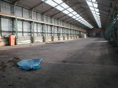 The Ashington workshops inside