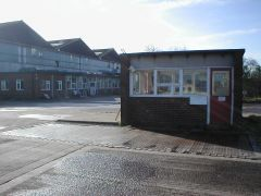The Ashington workshops entrance gatehouse