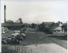 Woodhorn colliery in 1965