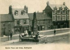 Market Place and Cross 1900