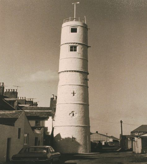 Lighthouse back of Bath Terrace Blyth