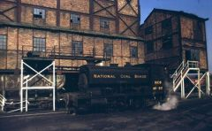 Netherton Colliery Railway Engine 1970.