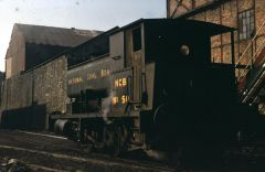 Netherton Colliery Railway Engine 1970