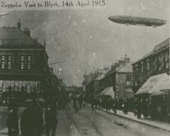 Zeppelin visit to Blyth April 14th 1915
