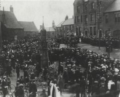 Funeral of Sun Inn murder victims 1913