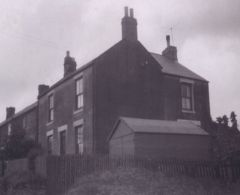 Plessey House, 1 Single Row, Choppington High Pit 1950.JPG