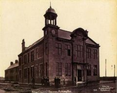 New Council Offices, Station Road, Ashington 1915.JPG