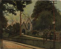 Lych Gate Parish Church, Morpeth 1910.JPG