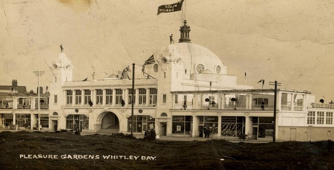 Pleasure gardens, Whitley Bay 1910.JPG
