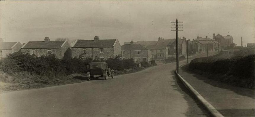 Newcastle Lane, Bedlington 1930