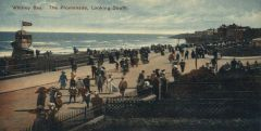 Whitley Bay, the promenade looking South 1911.JPG