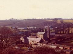Photograph of old mill near Sheepwash Bridge 1950.JPG