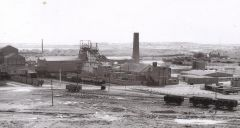 Choppington `A` pit, 1963