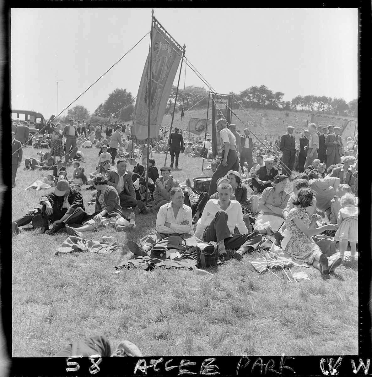 Miners Picnic 1950 Atlee Park