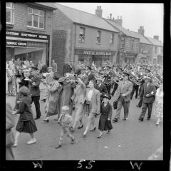 1950 Procession through Front Street   Miners Picnic