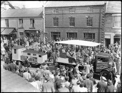 Float At Miners Picnic 1950