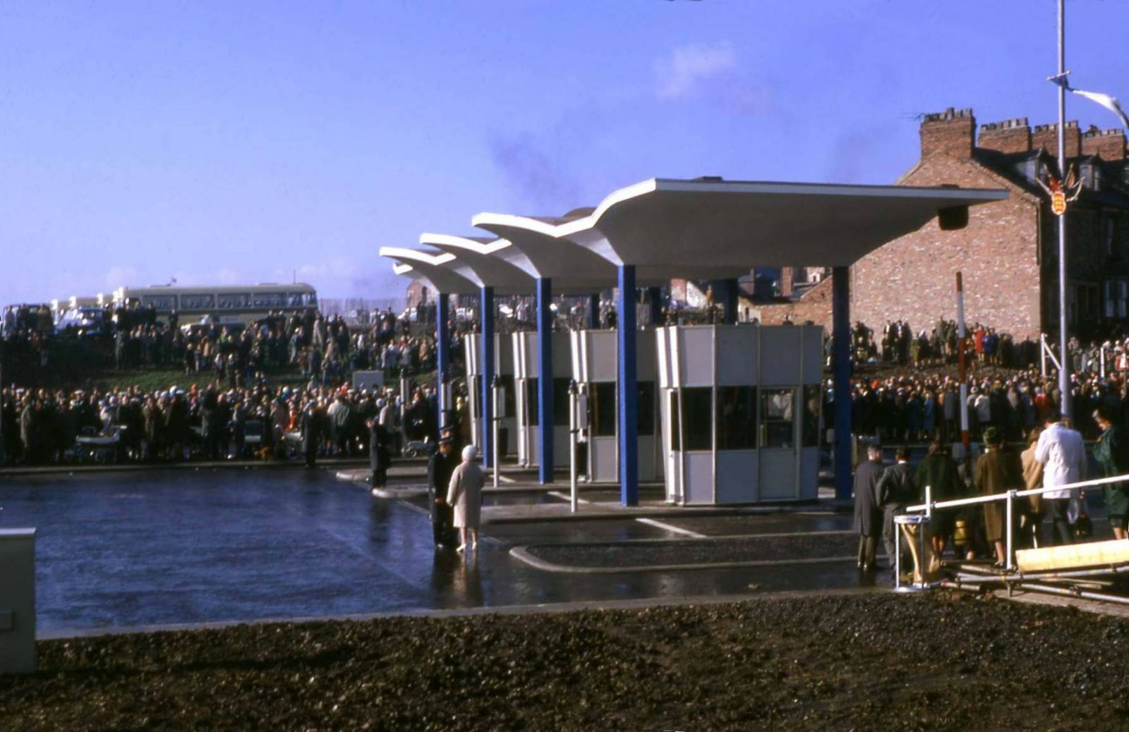 Opening of the Tyne Tunnel, January 1968