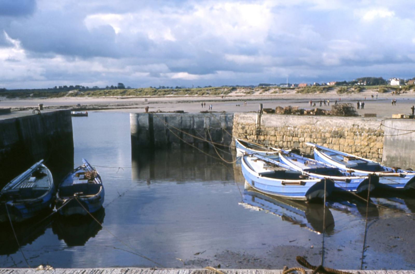 Beadnell Harbour, 1966