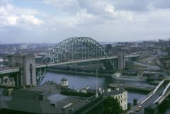 A view from the Castle Keep, Newcastle, 1965