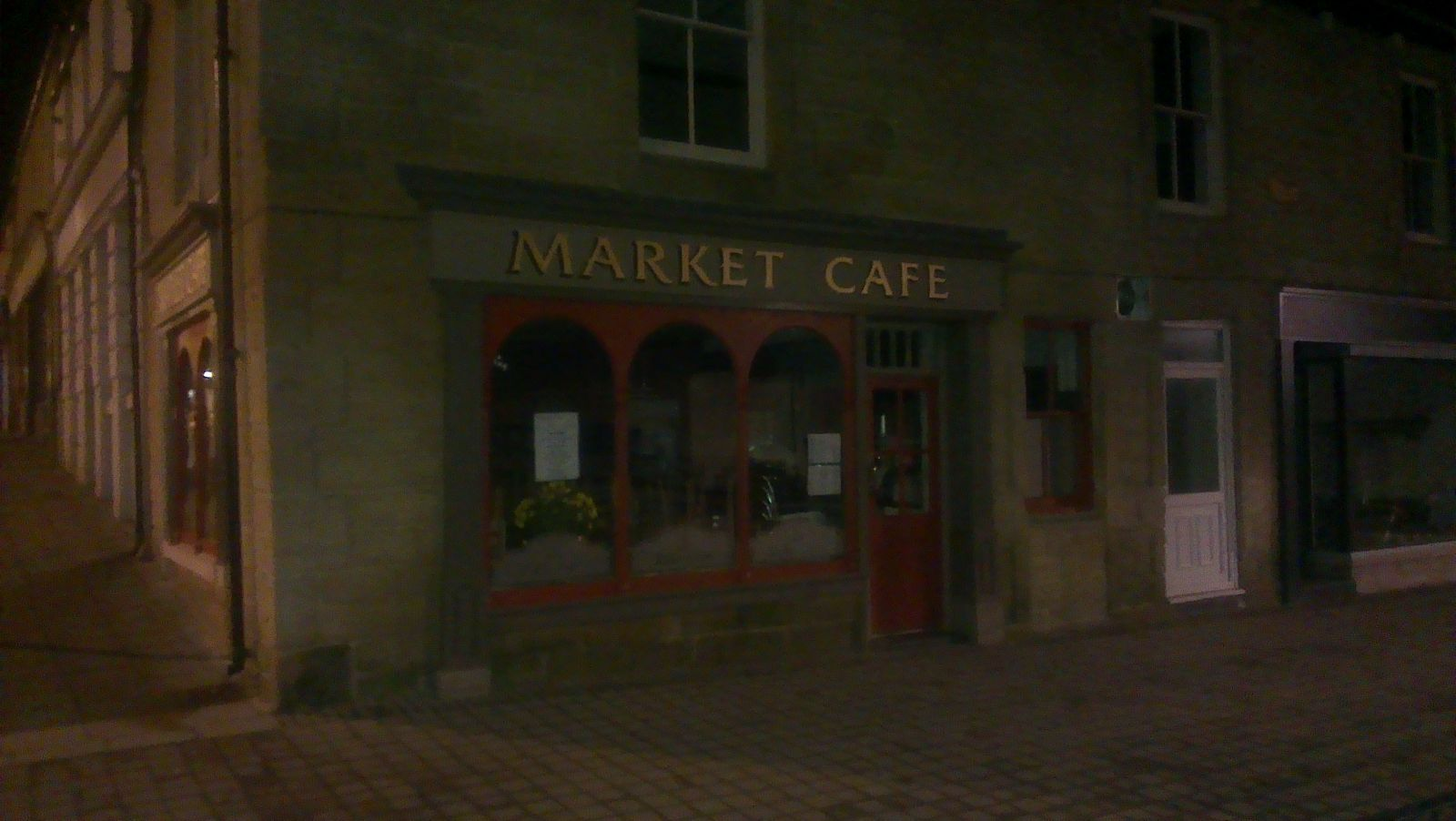 Market Place café finished