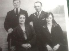 My grandparents & great aunt & uncle in the1920's