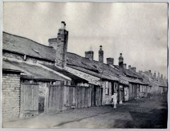 Clifton Row At The colliery