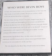 Just who were the Bevin Boys?