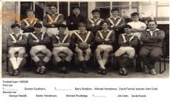 Football team1965-66 with names