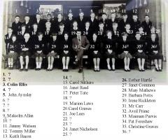 Class n mid 1960s with names