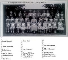Barrington CP - Class2 - 1956 with names