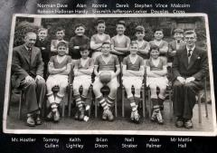 Whitley Memorial 1959-60 Football team