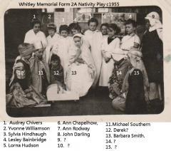 Form2A Whitley Memorial School Nativity Play c1955