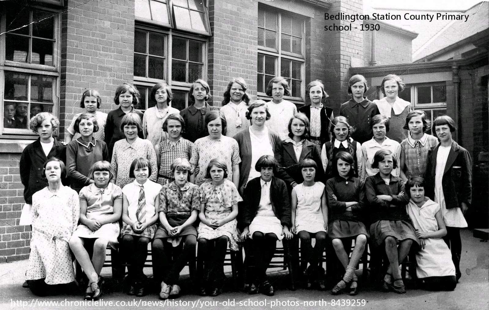 1930 class photo posted in the Evening Chronicle 11/02/2015