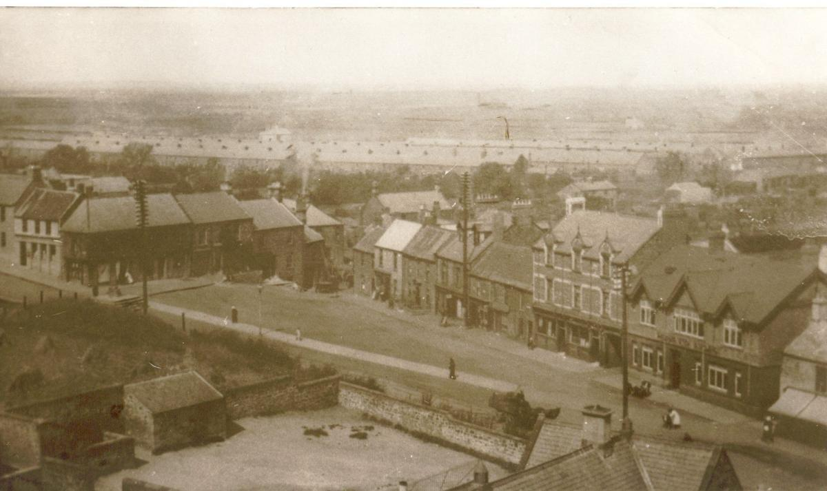 Market Place c1930 - no air raid shelter(s) in school yard