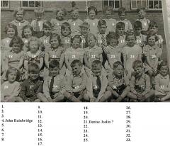 Bedlington Council School 1957
