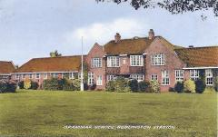 Bedlington Grammar School postcard  - no date