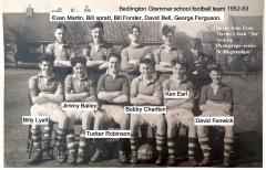 Football team1952-53 season